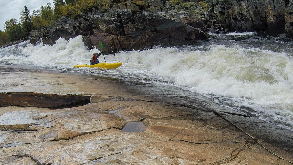 Creeking i Enan, Jämtland