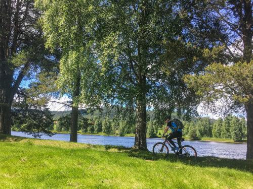 Cykling på Järvsös fina stigar